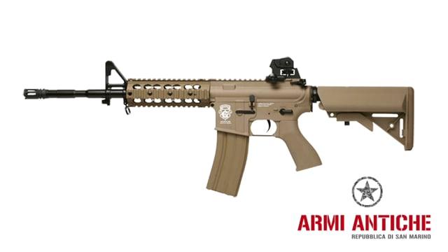 Fucile Elettrico GR15 RAIDER-Long Scarrellante Blow Back - Tan - G&G Offerta Combo Kit