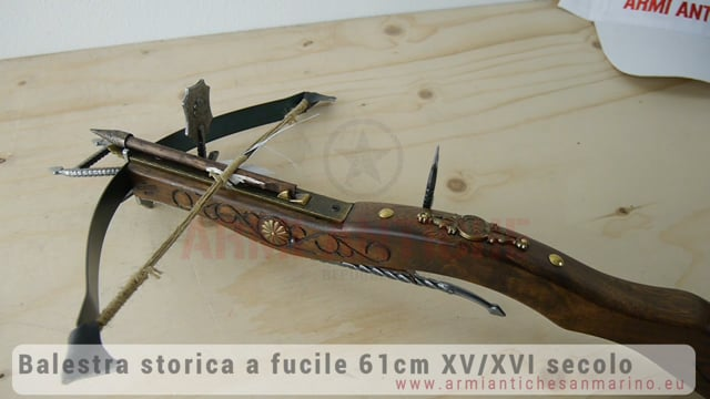 BALESTRA A FUCILE 61cm XV/XVI SECOLO
