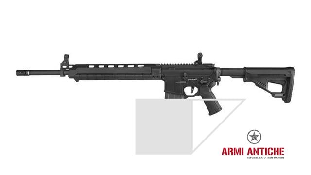 Fucile elettrico M4-L nero Amoeba programmabile