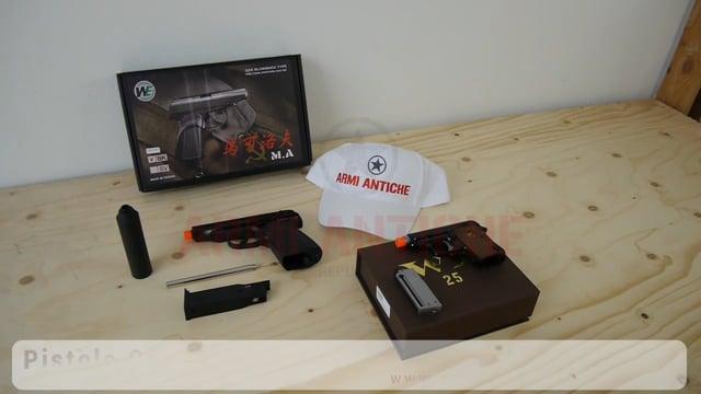 Pistole WE: Makarov e Beretta CT25