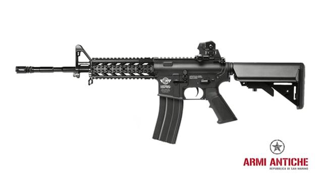 Fucile Elettrico CM16 RAIDER-Long - Nero - G&G Offerta Combo Kit