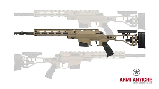 Fucile a Molla MSR303 Bolt Action - Dark Earth Tan - Ares Amoeba