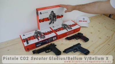 Pistole Softair Co2 Secutor | Gladius - Bellum V - Bellum X