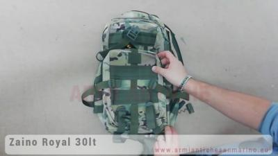 Zaino Tattico Royal Multicam con Camelback