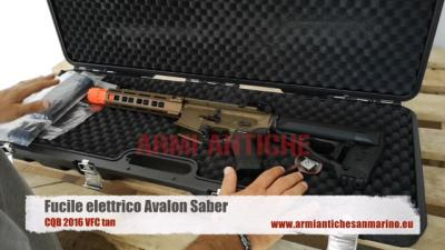 Fucile Elettrico Avalon Saber CQB 2016 VFC tan