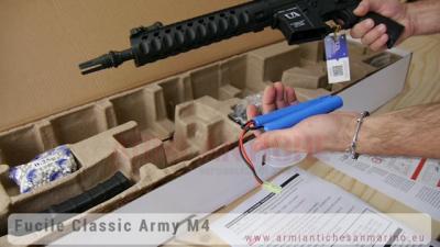 Fucile elettrico M4 CA4 Delta 10 Mosfet - Classic Army