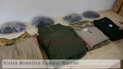 Divisa Mimetica Combat Warrior - JS Tactical - JSWAR
