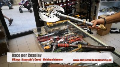 Asce per cosplay - Vikings, Assassin's Creed, Vichinga