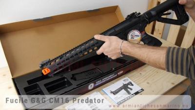 Fucile elettrico Cm16 Predator abs G&G