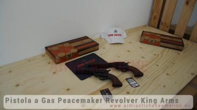 Pistola a Gas SAA .45 Peacemaker Revolver 4