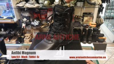 Anfibi tattici Magnum Lynx 8.0 SZ Black