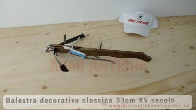 BALESTRA CLASSICA 33cm XV SECOLO