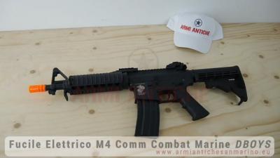 Mitra M4 CQB Comm Combat Marine in ABS - Nero - D|Boys (5781)
