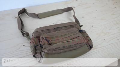 Zaino Tattico Paracord piccolo - Urban Gray - 7 Litri - Mil-Tech (13726108)