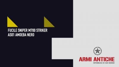 Fucile Sniper M700 Striker AS01 Amoeba nero