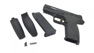 Pistola a Gas M&P9 - Nero / Gold - Smith & Wesson / Salient Arms International
