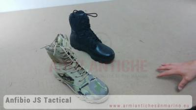Anfibi Tattici JS Tactical Warrior Combat