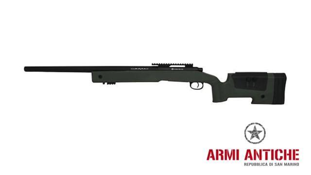 """Fucile Sniper a Molla SPR A2 Boltaction - Olive Drab """"Verde"""" - FN Herstal"""