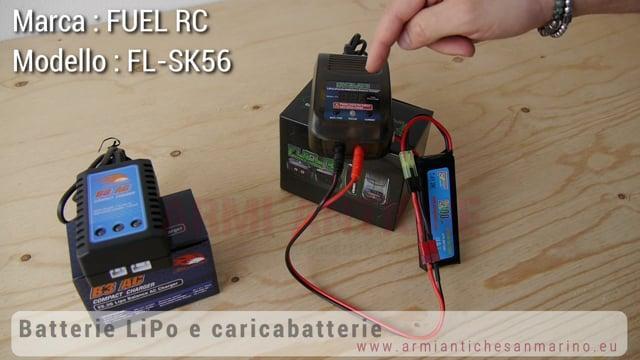 Batterie LiPo e Caricabatterie