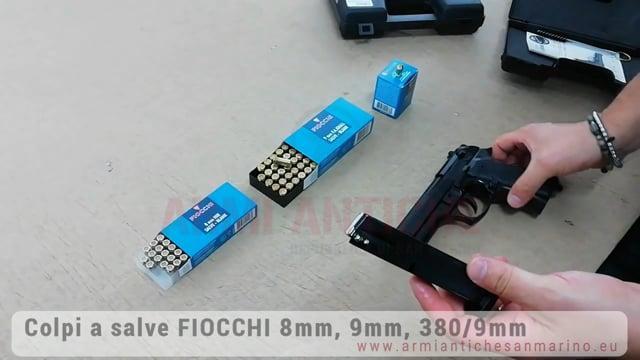 "Proiettili per colpi a Salve ""Fiocchi"" 8mm - 9mm - 380 mm"