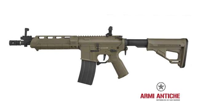 Fucile elettrico M4-S Tan Amoeba programmabile