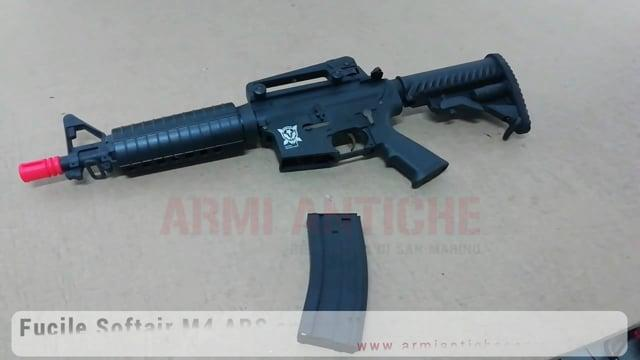 Fucile M4 933 NERO BLOWBACK (Style Kompetitor)