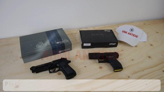 Umarex: BERETTA 92A1 & Walther PPQ M2 a Green Gas