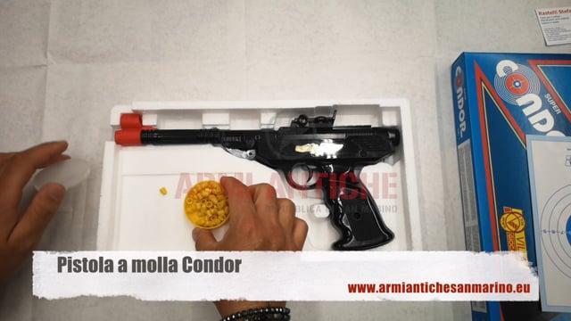 Pistola A Molla Condor In Metallo