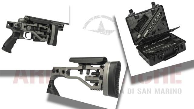 Fucile a Molla MSR303 Bolt Action - Titanium Gray - Ares Amoeba