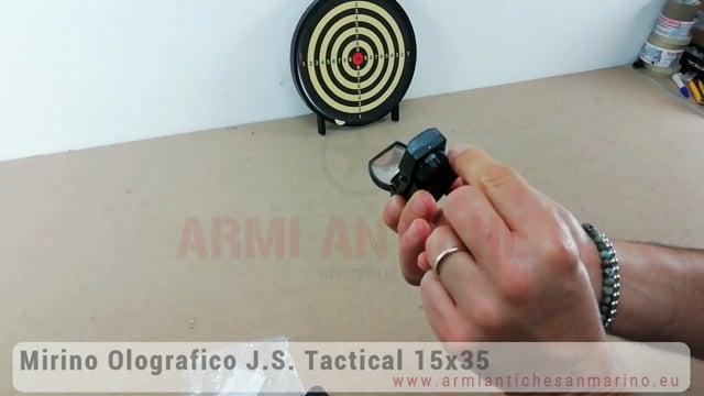 Mirino Red Dot Olografico JS-Tactical 15x35 - 4 diversi mirini luminosi