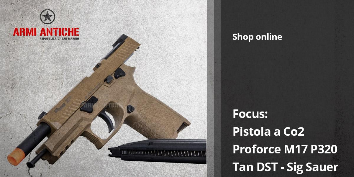 Pistola a Co2: Proforce M17 P320 - Tan DST - Sig Sauer