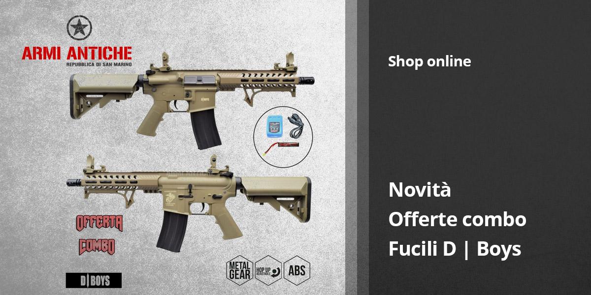 Novità: offerte combo fucili softar D| Boys