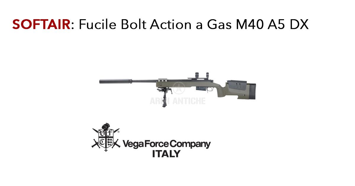 Fucile Softair Bolt Action a Gas M40 A5 DX