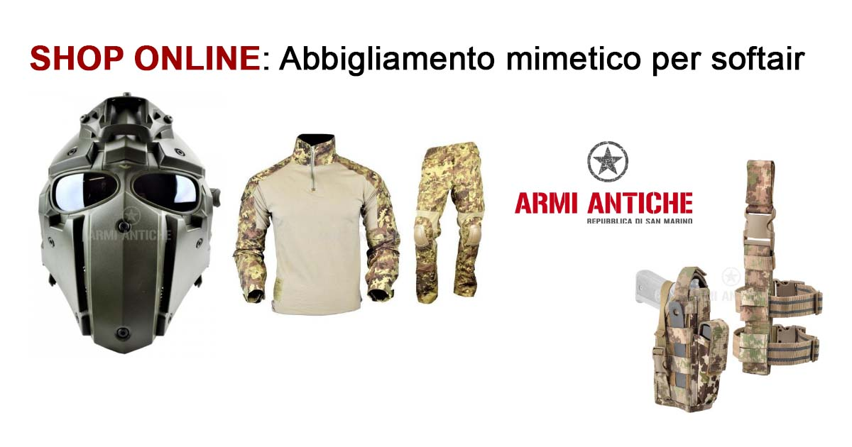 Shop on line: l'importanza dell'abbigliamento mimetico