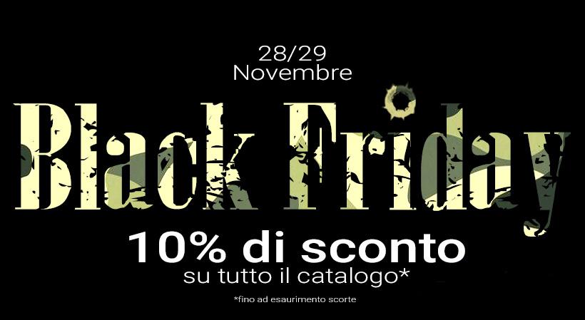 Il Black Friday di Armi Antiche San Marino