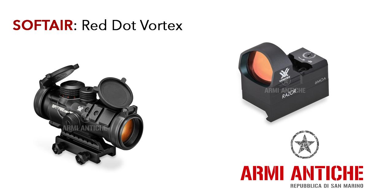 I migliori RED DOT Vortex per fucili da softair su Armi Antiche
