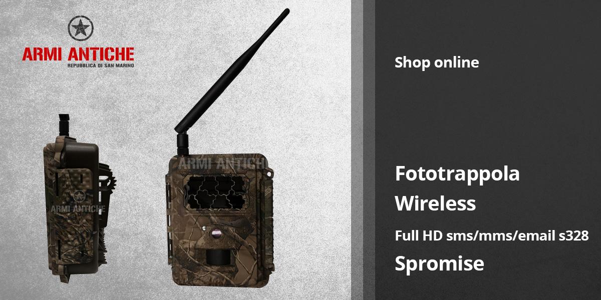 Scopri la Fototrappola Spromise Full HD SMS/MMS/EMAIL S328