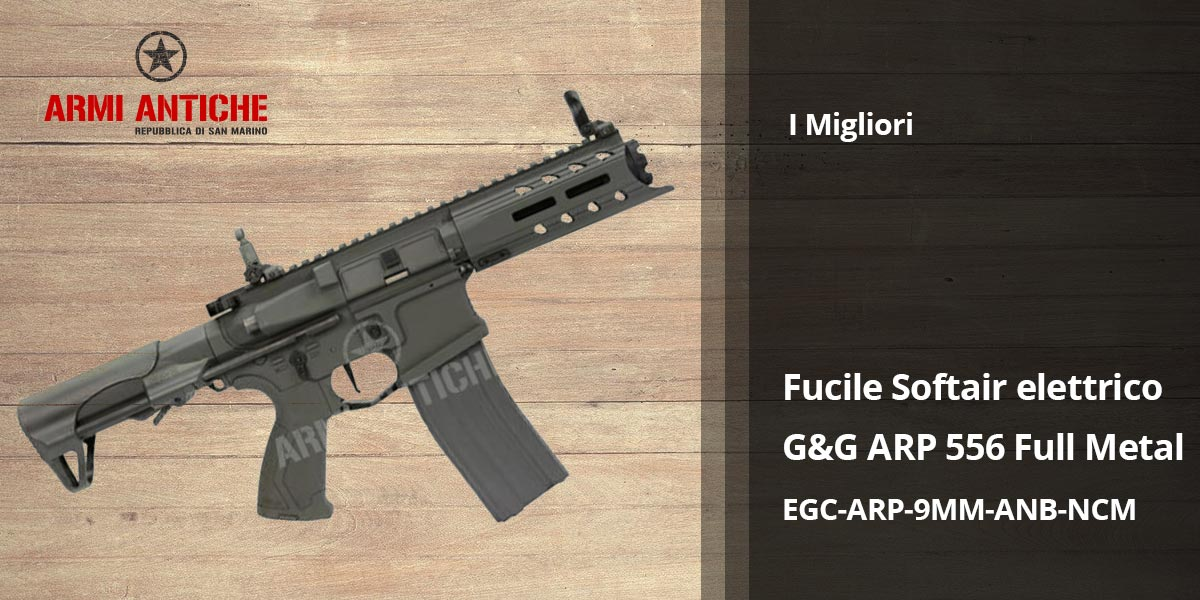 I Migliori: Softair - Fucile elettrico G&G ARP 556 - MOSFET - E.T.U. - Full Metal