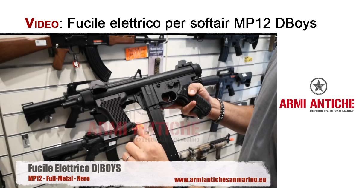 [Video] Fucile elettrico Mp12 D Boys per softair