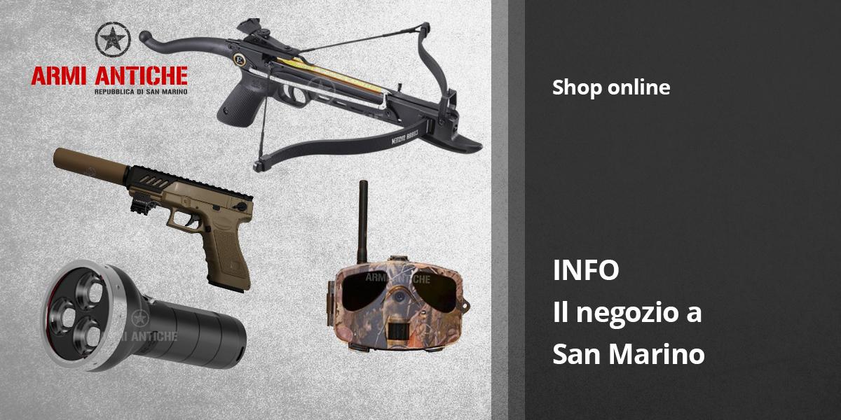 Il nostro negozio softair a San Marino