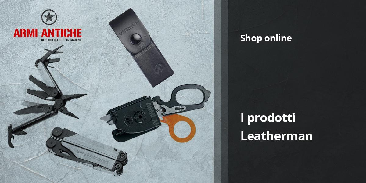 Leatherman: pinze multiuso e coltellini