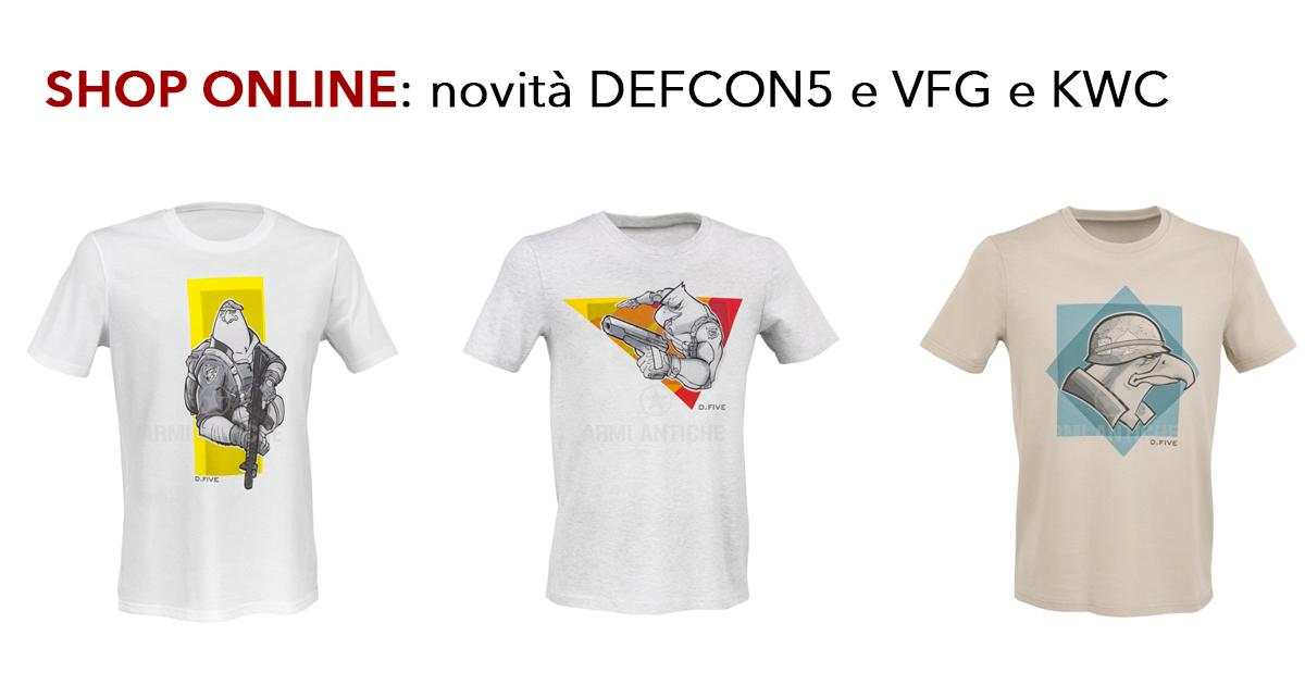 Le novità di questa settimana: Defcon5, Kwc, Vfg ...