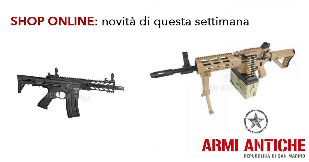 Armi Antiche Shop Online: Le novità di questa terza settimana di maggio