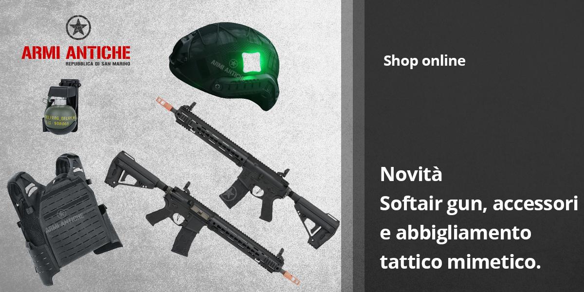 [Nuovi Arrivi] Novità airsoft gun, abbigliamento tattico e accessori