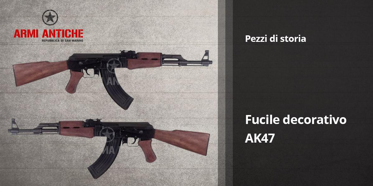 Pezzi di storia: Fucile decorativo AK47– Denix