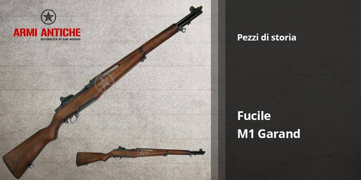 Pezzi di storia: Fucile decorativo M1 Garand - Denix
