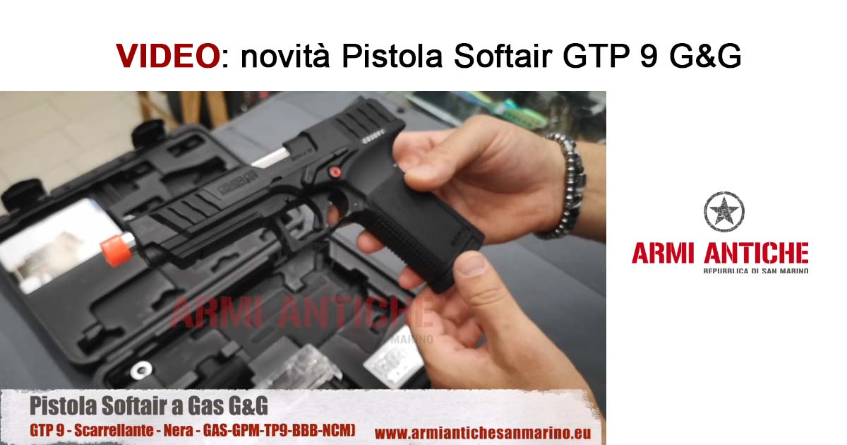 [Video] Pistola a gas GTP 9 G&G