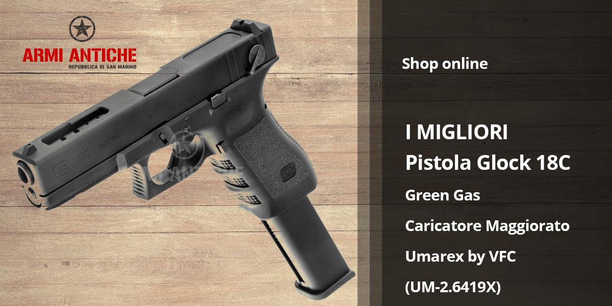 [I Migliori: Softair] Pistola green gas Umarex by Vfc UM-2.6419X