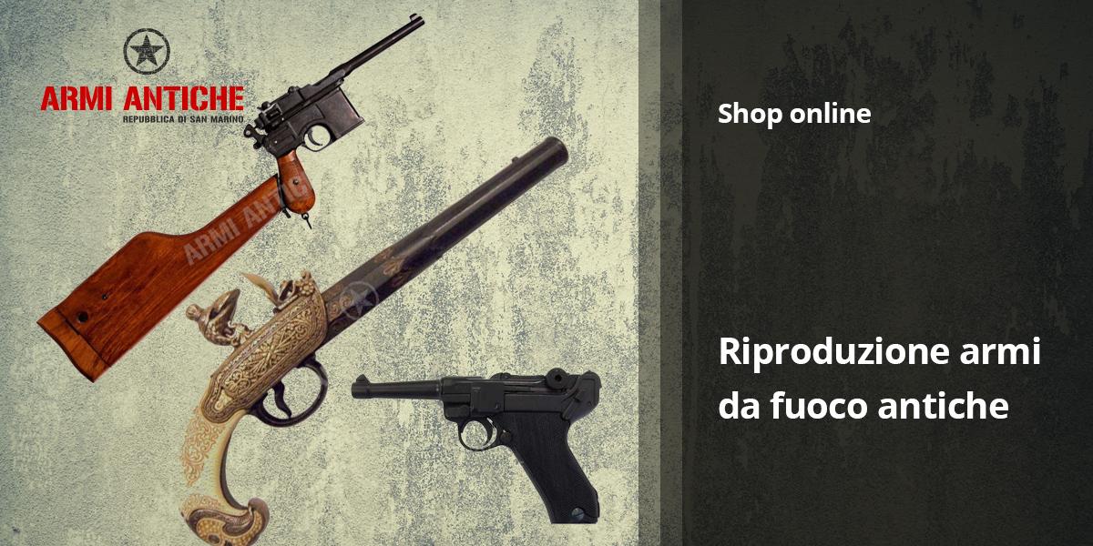Pistole decorative: Riproduzione di armi da fuoco antiche