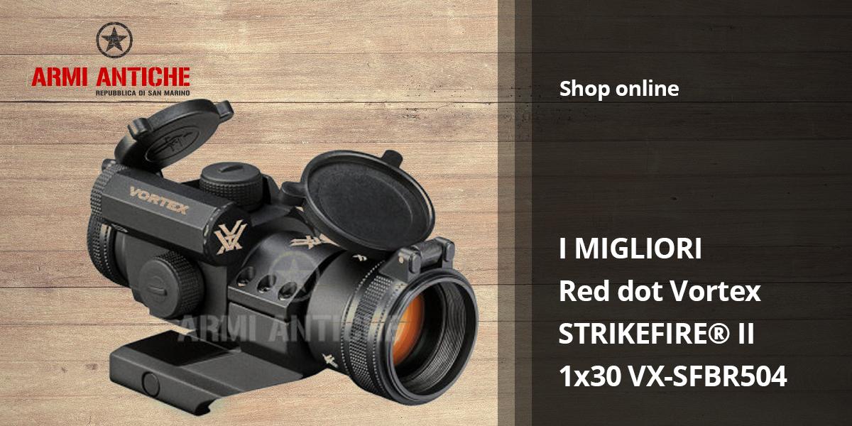 [I Migliori: Softair] Red Dot Vortex VX-SFBR504 Strikefire II 1x30